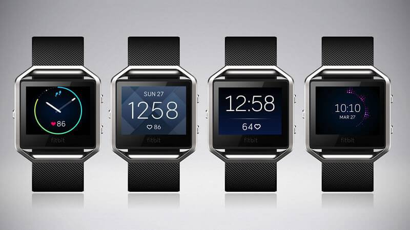 Fitbit Blaze Clock Face Design