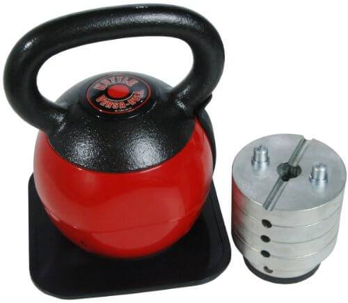 Stamina 36-Pound Best Adjustable Kettlebell
